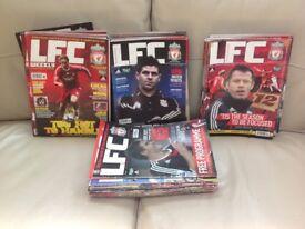 Liverpool FC LFC Weekly Magazine 85 Copies. Aug 2006 to November 2009