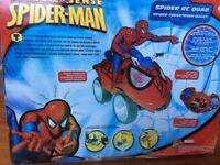 SPIDERMAN quad-bike!