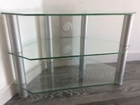 Corner glass TV stand - Free