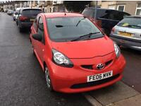 2006 Toyota Aygo 5 Door Hatch Back 1 year MOT £20 full year tax