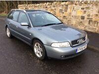 Audi A4 1.8 Estate,2001. SPARES OR REPAIR...