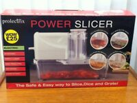 Prolectrix Power Slicer & Grater NEW BOXED