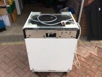 Spares or repair Bosch integrated dishwasher