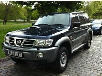 2004 NISSAN PATROL 3.0 Di TURBO SVE 4X4 7 SEATER FACE-LIFT 170BHP SAME AS TOYOTA LAND CRUISER