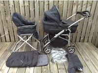 PRAM M&P MPX Travel System, Complete Package in Great Condition