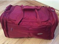 Sansonite red bag excellent condition