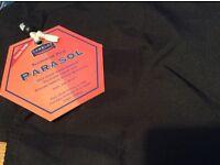 Black Parasol Cover