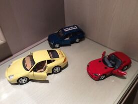 Burago die cast collector cars