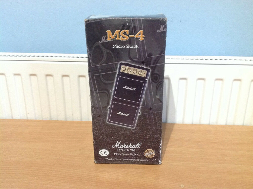 MARSHALL MS-4 Micro Stack Guitar Practice Amp