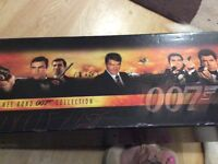 James Bond videos box set