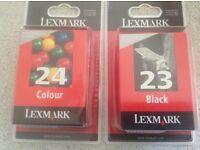 Lexmark inkjet cartridges