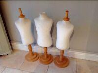 3 Children's Dummies/Mannequins