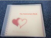 Anniversary book - ideal wedding gift - £12
