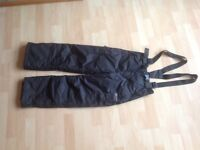 Girls' ski pants 8/9 yrs