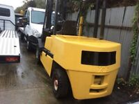 Yale 4.5 ton diesel auto fork lift fitted bear cat tyres