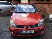 ***For sale *** Renault Clio Sport 172