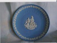 Wedgewood 1991 Christmas Plate