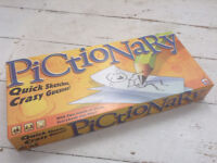 Pictionary board game for the family, adults, children