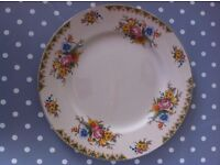 Vintage Maddock Ivory Ware Serving Plate 'Sunchow' pattern