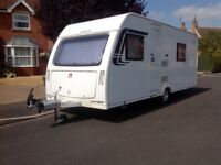 Lunar Venus 500/4 touring caravan excellent condition everything included, including motor mover.