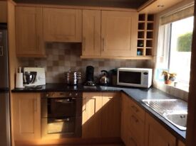 Kitchen wall and base units for sale due to extension