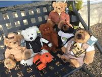6 Land Rover Genuine collectors bears