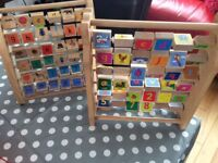 2 x wooden abacus - take both for £10
