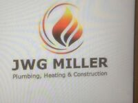 Plumbing heating bathrooms & roof work