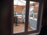 Upvc double glazed patio doors