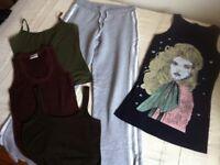 Job Lot Women's Teenage Clothing Ladies Clothes XS 8 Coat Jeans Dress VeroModa H&M Monsoon New Look