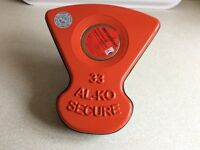 ALKO Al-ko Caravan Wheel Lock Lozenge/Insert No 33. New