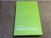 Samsung tablet - Galaxy Tab E (white) - brand new, sealed box, with guarantee