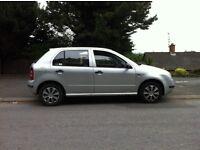 03 skoda fabia 1.9sdi diesel full years mot 4 door cheap tax insurance easy on fuel