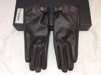 UGG Australia Brown Soft Leather Glove * NEW in box * Ladies* One size.