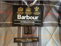 Genuine Barbour ladies jacket size 14