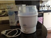 Philips Avent Electric Steriliser. Perfect condition. Makes sterilising so easy.