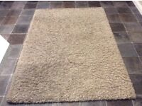 Dunelm mill rug excellent condition