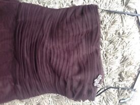 DESSY Chocolate Bridesmaid/Cocktail/Prom dress SIZE 14/16