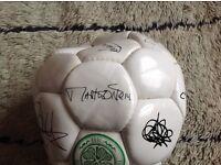 Celtic signed football