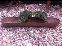 Cast Iron Trough - Great as garden feature