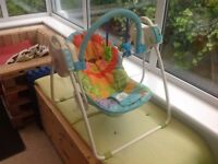 Fisher-Price Animal Theme - Swing Chair