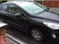 2009 Peugeot 308 1.6 hdi sell or swap for 4 door