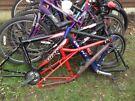 Job lot of six bike s and three frames inc venom