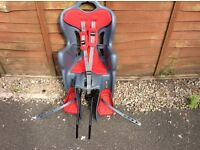 Childs rear bicycle seat