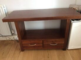 Console table and drawers