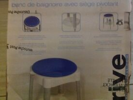 Rotating bath or shower seat new £10