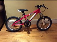 "Carreras Blast 16"" Boys Mountain Bike. Used. £40.00 ( was £150.00)"