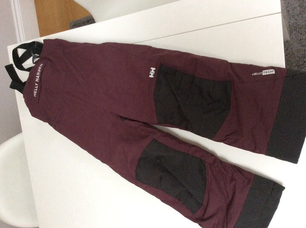 Helly Hensen trousers ski clothes kids 7 years