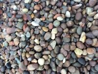20 mm moray pebbles garden and driveway chips/ gravel/ stones