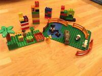 Duplo Lego bundle - blocks plus zoo/animals